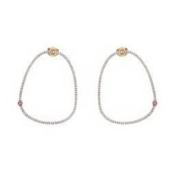 Gold Earrings Verita. True Luxury 40330462 WOMEN'S JEWELLERY