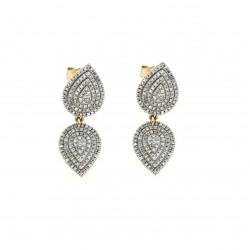 Gold Earrings Verita. True Luxury 40330489