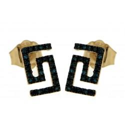Gold Earrings Verita. True Luxury 40330459 WOMEN'S JEWELLERY
