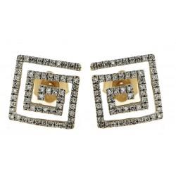Gold Earrings Verita. True Luxury 40330461 WOMEN'S JEWELLERY