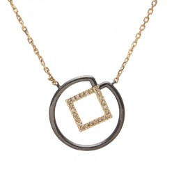 Gold Necklace Verita. True Luxury 40430418 WOMEN'S JEWELLERY