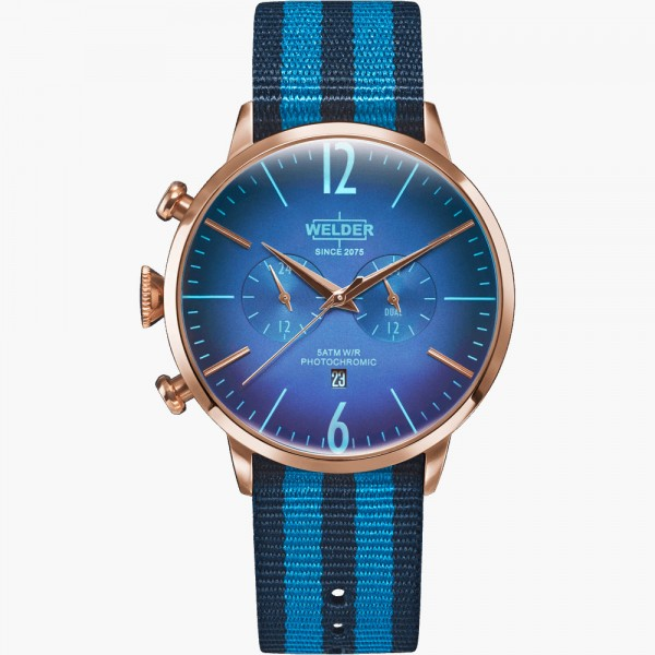 Rose & Blue Moody WWRC500 GENT'S WATCHES