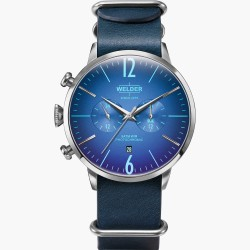Blue Leather Moody WWRC507 GENT'S WATCHES